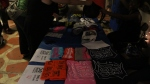 5e/Heru biz T-Shirt table